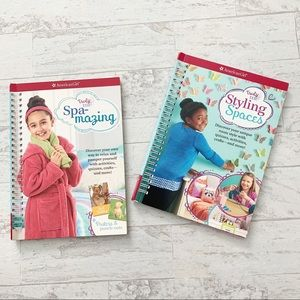 American Girl Truly Me Styling Spaces Spa Books